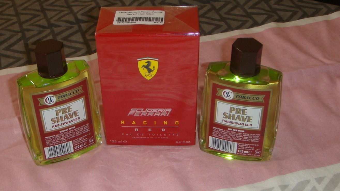 "Scuderia-Ferrari-Racing Red EdT 125 ml  ""NEU"""