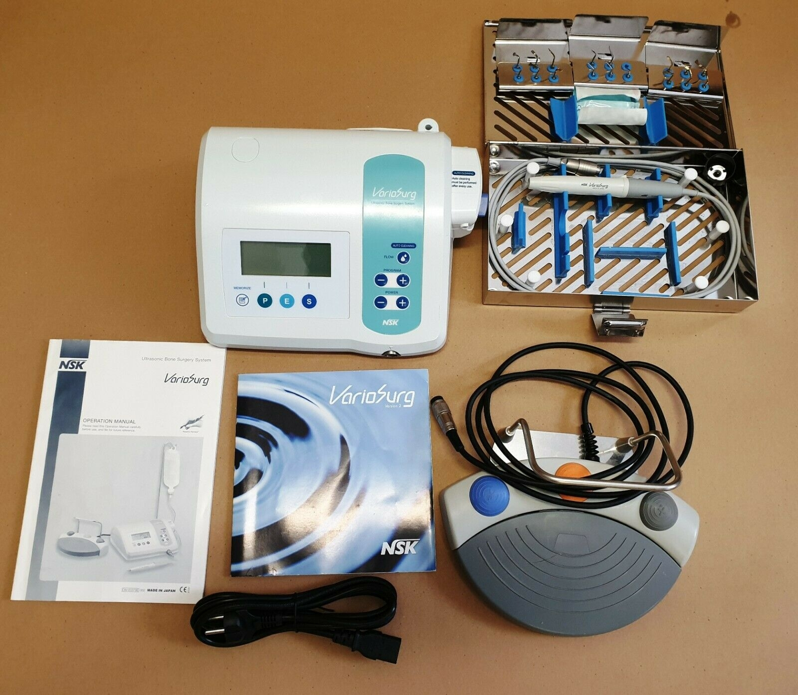 NSK Variosurg Ultrasonic Bone Surgery Ultraschall Chirurgiegerät