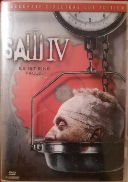 Saw 4 DVD US-amerikanischer Horror-Splatterfilm
