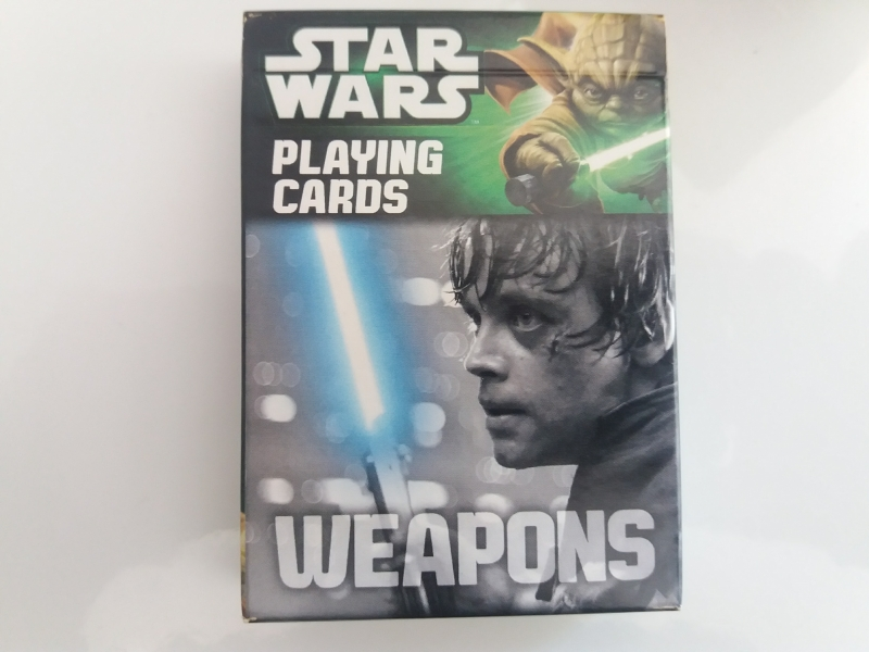 Star Wars Weapons, Spielkarten - Cartamundi 22500179